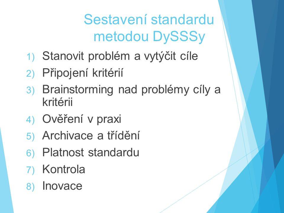 Sestavení standardu metodou DySSSy