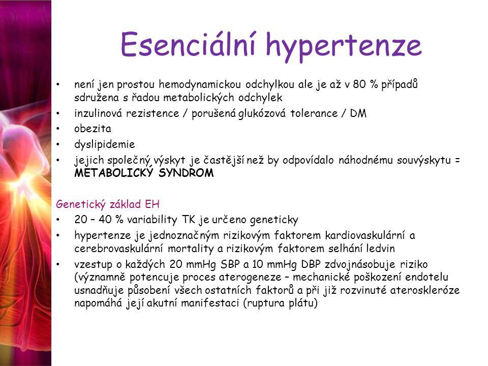 Esenciální hypertenze