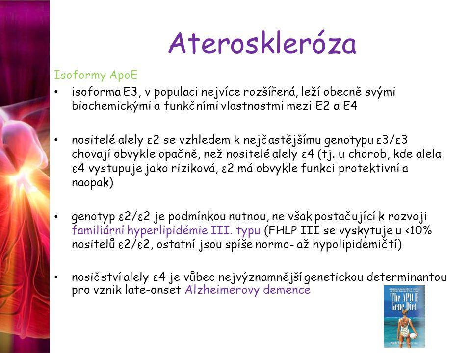 Ateroskleróza Isoformy ApoE