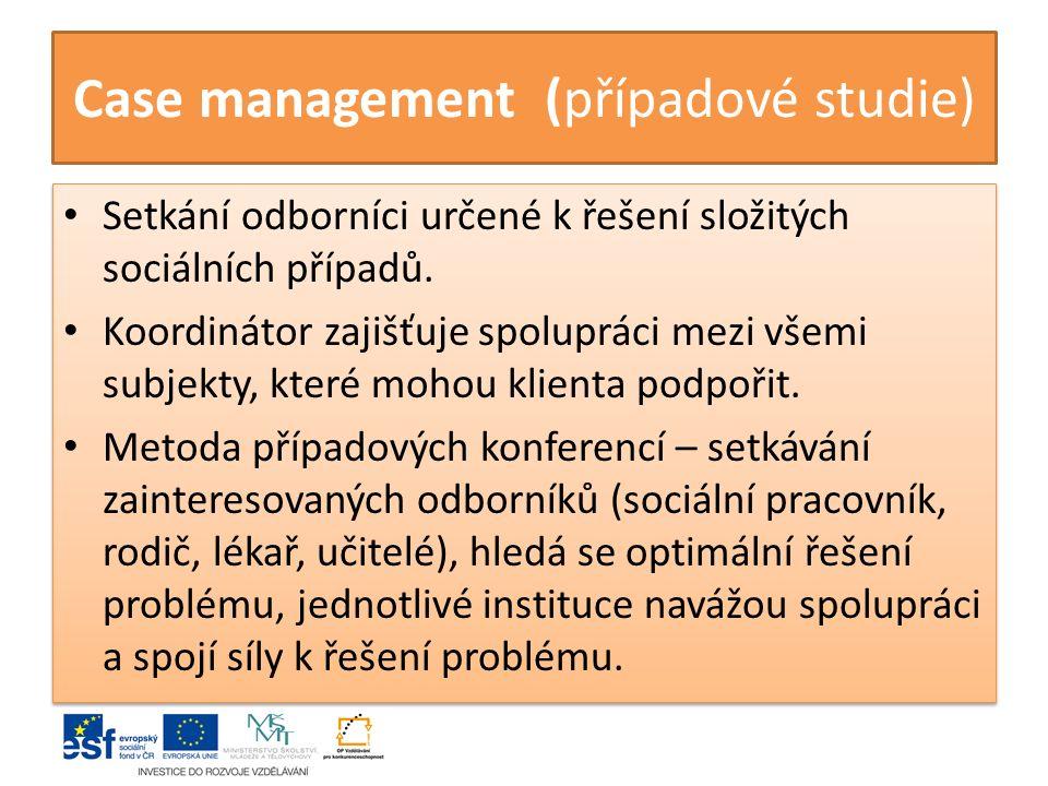 Case management (případové studie)
