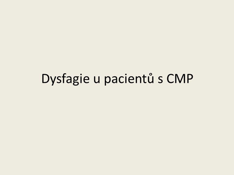 Dysfagie u pacientů s CMP