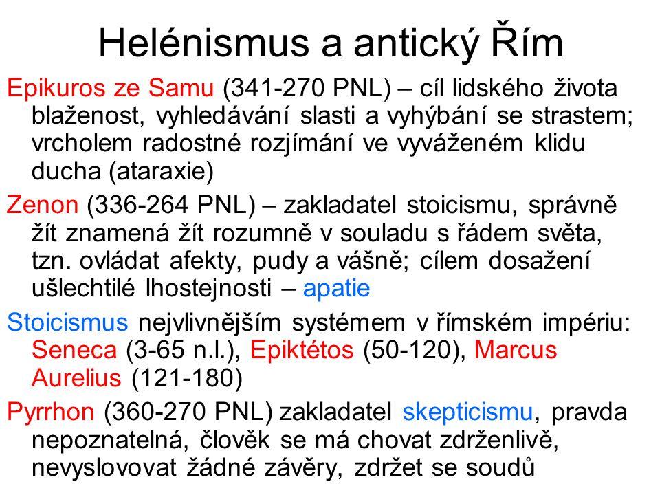 Helénismus a antický Řím