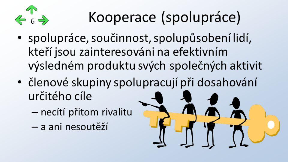 Kooperace (spolupráce)