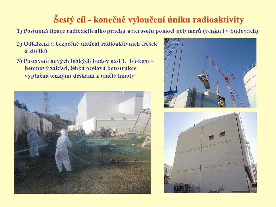 Šestý cíl - konečné vyloučení úniku radioaktivity