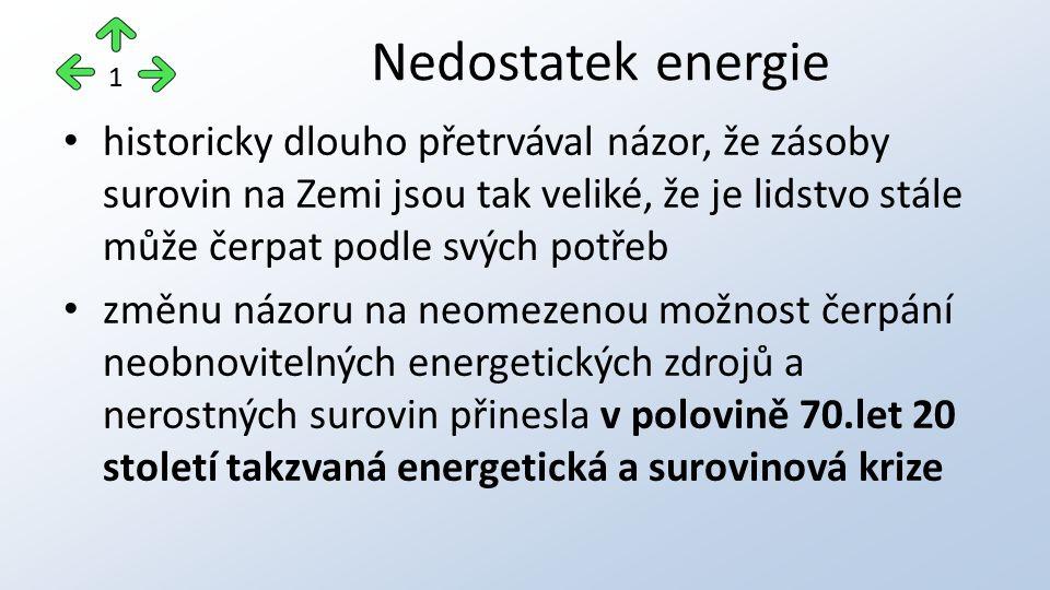 Nedostatek energie 1.