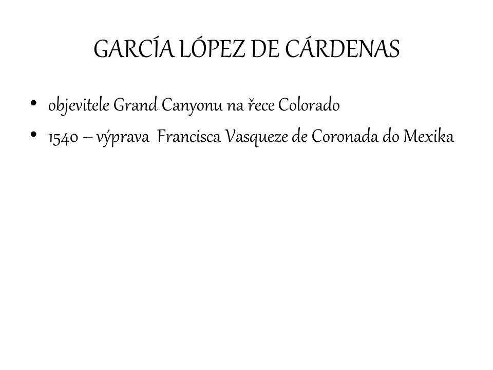 GARCÍA LÓPEZ DE CÁRDENAS