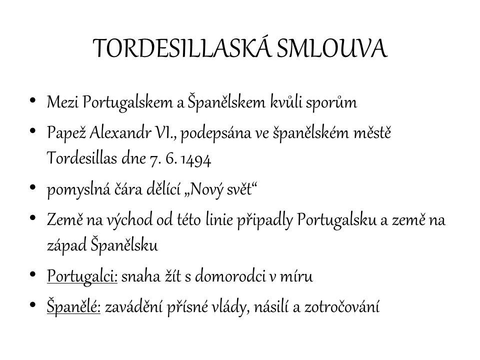 TORDESILLASKÁ SMLOUVA