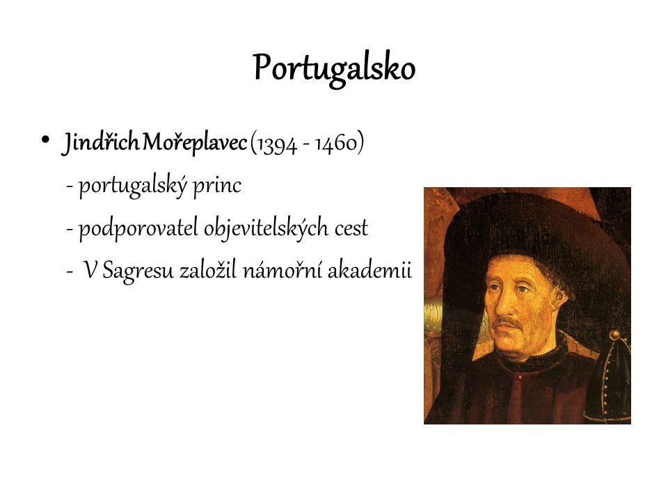 Portugalsko Jindřich Mořeplavec (1394 - 1460) - portugalský princ