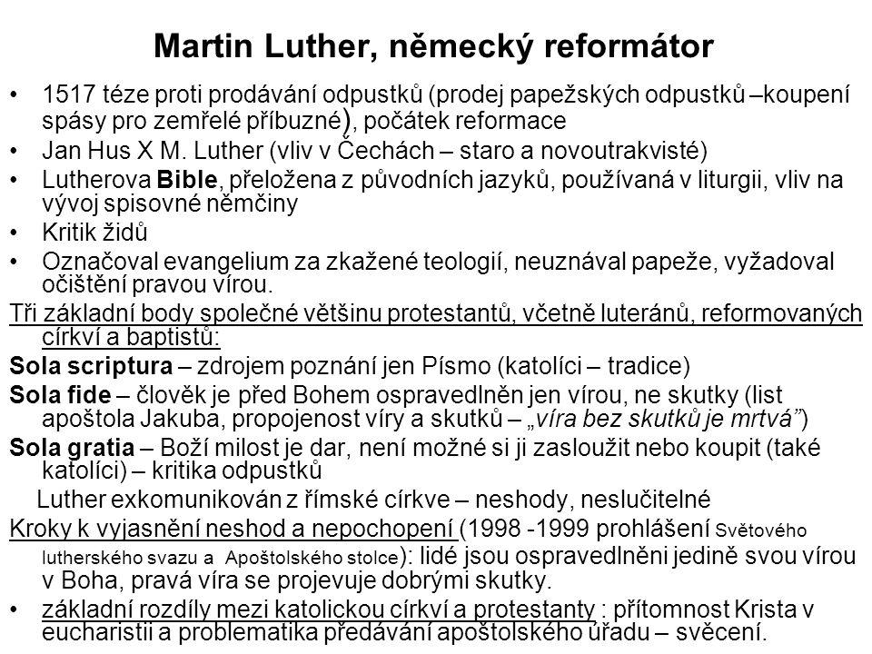 Martin Luther, německý reformátor