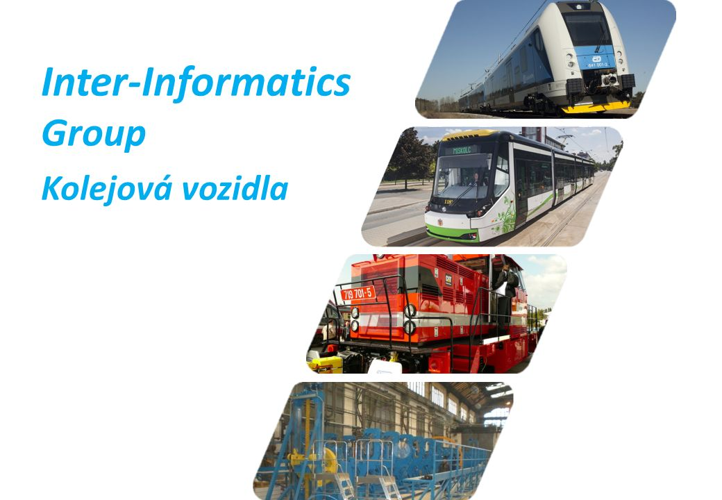 Inter-Informatics Group Kolejová vozidla