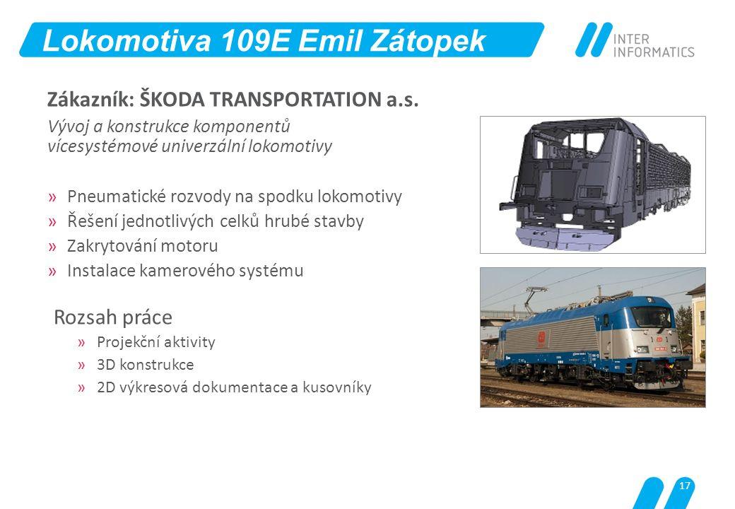 Lokomotiva 109E Emil Zátopek