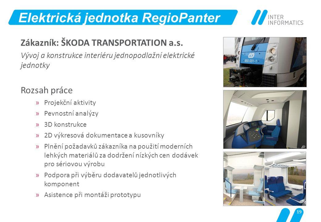Elektrická jednotka RegioPanter