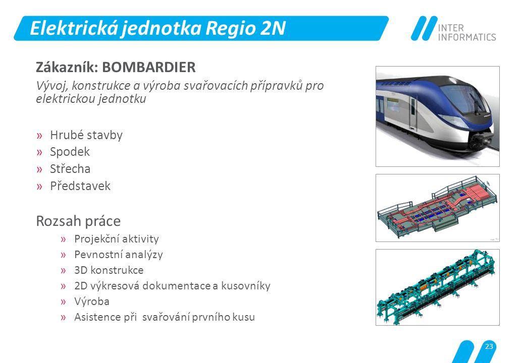 Elektrická jednotka Regio 2N