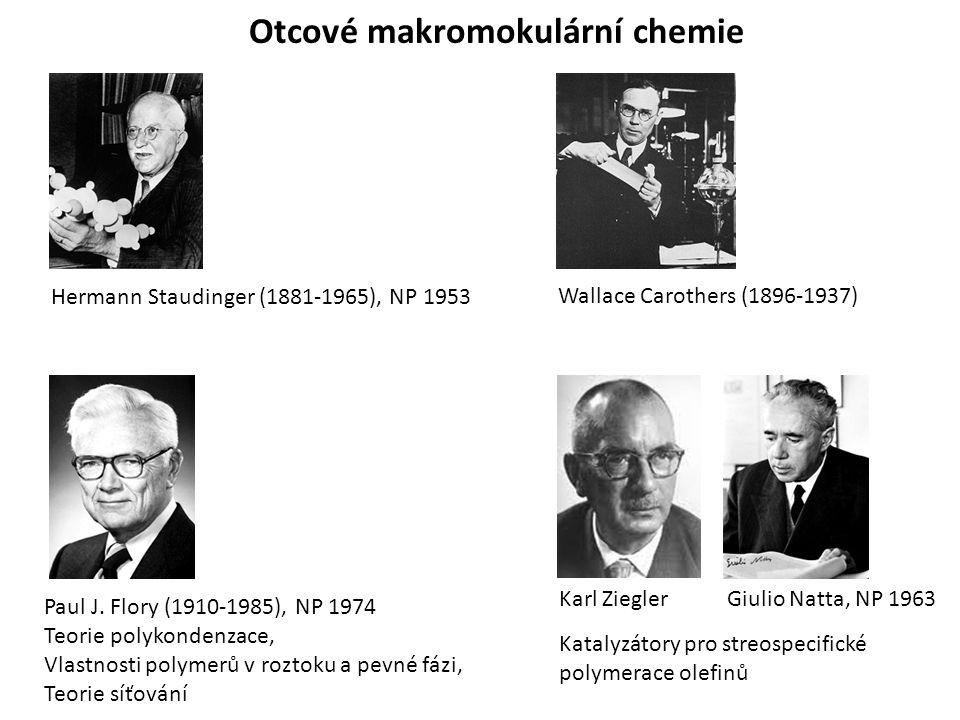 Otcové makromokulární chemie