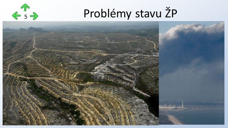 Problémy stavu ŽP 5