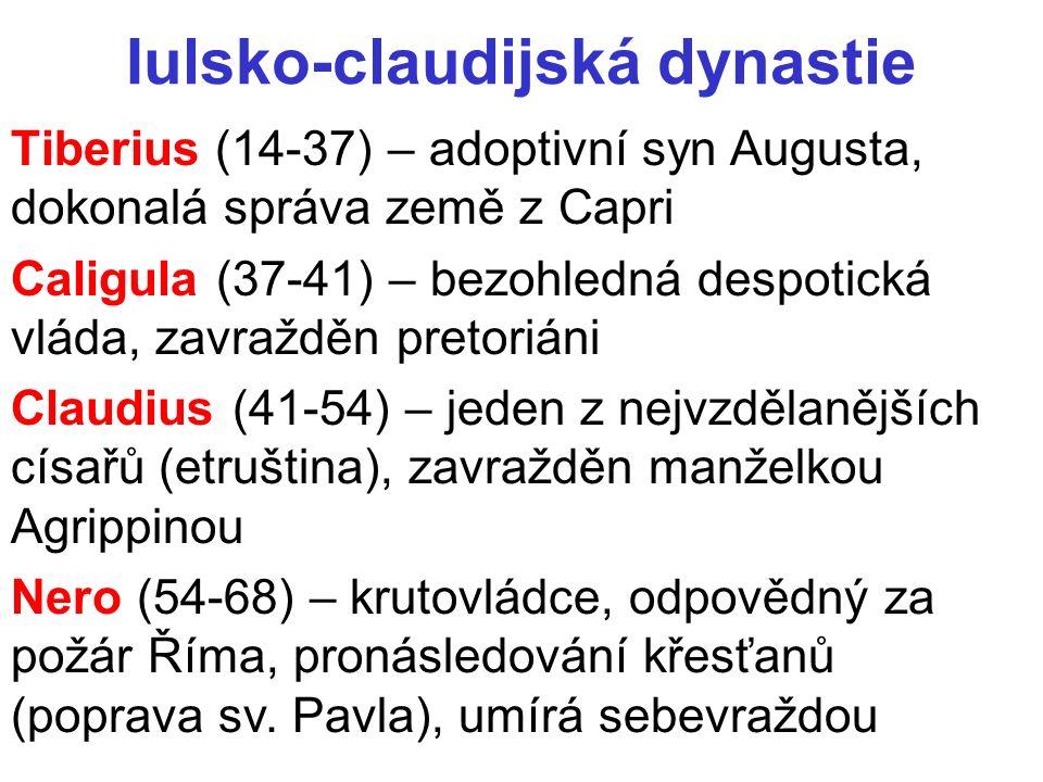 Iulsko-claudijská dynastie