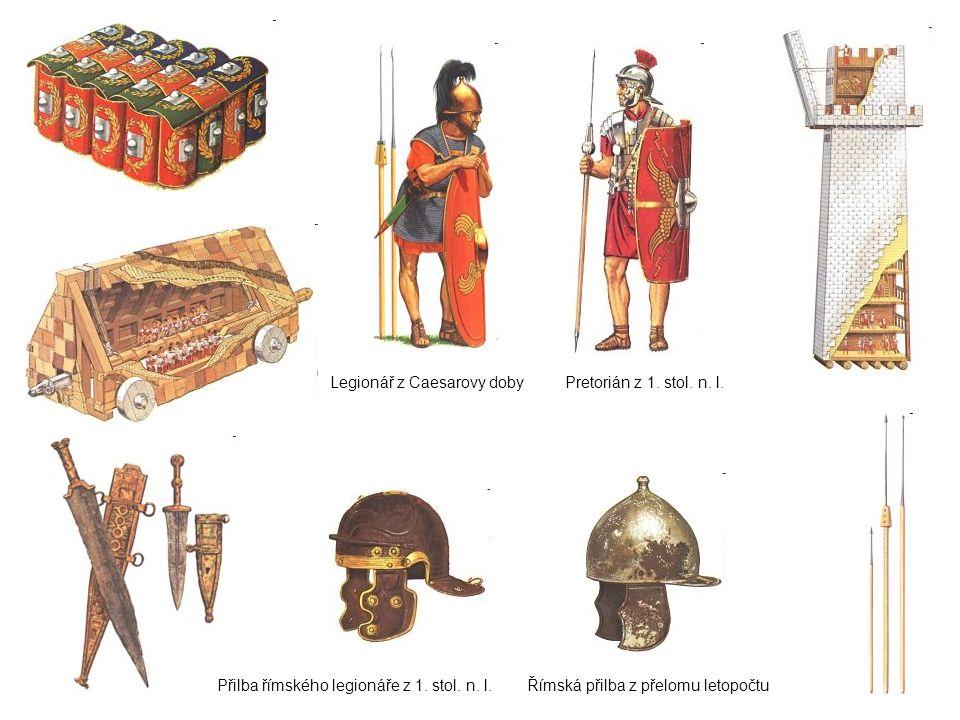 Legionář z Caesarovy doby