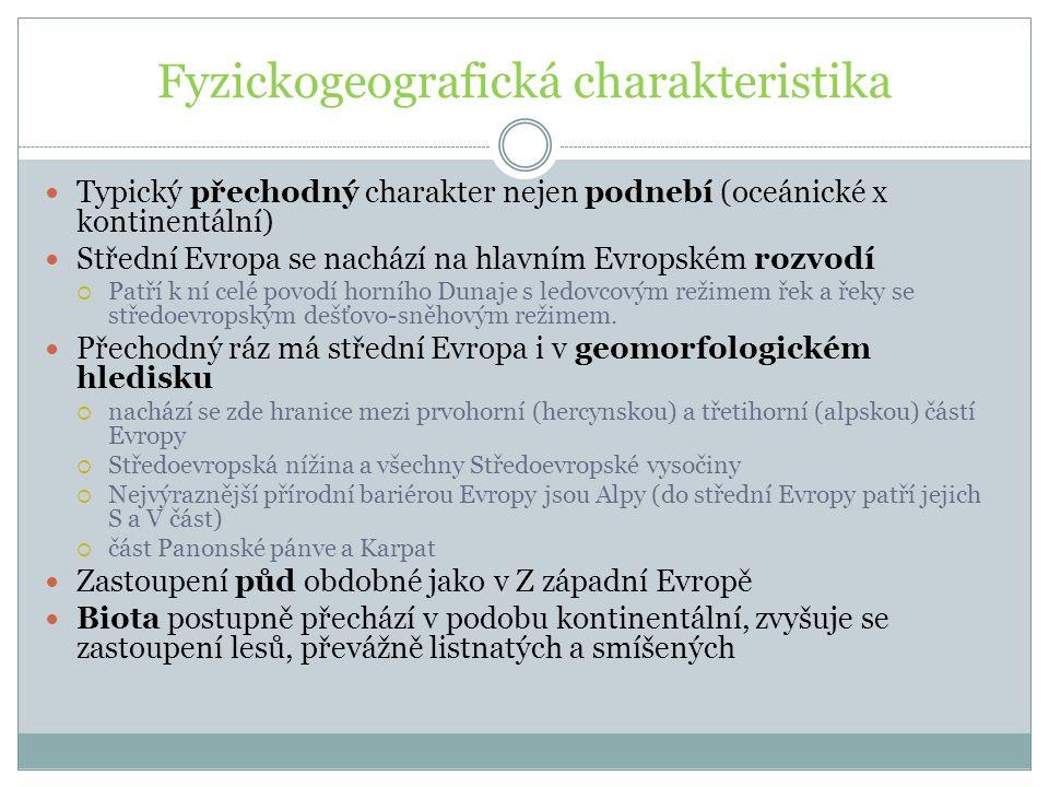 Fyzickogeografická charakteristika