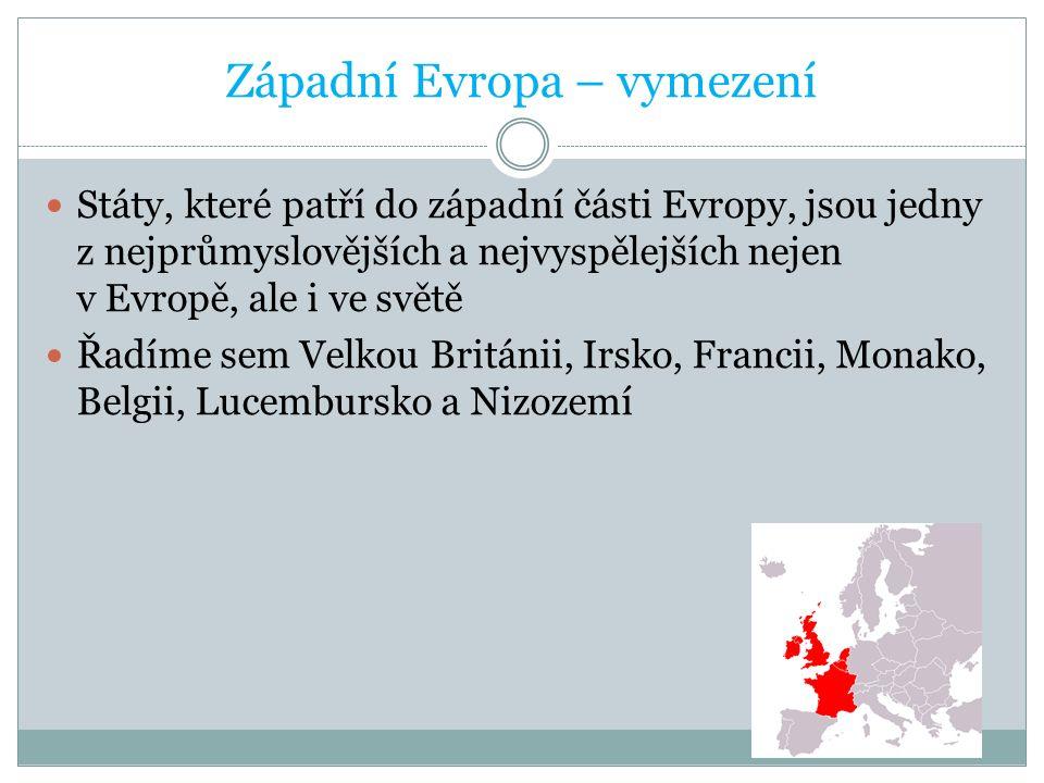 Západní Evropa – vymezení