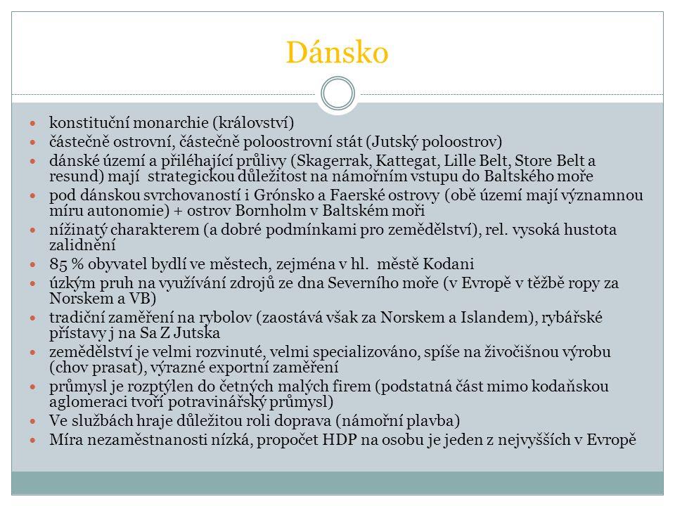 Dánsko konstituční monarchie (království)