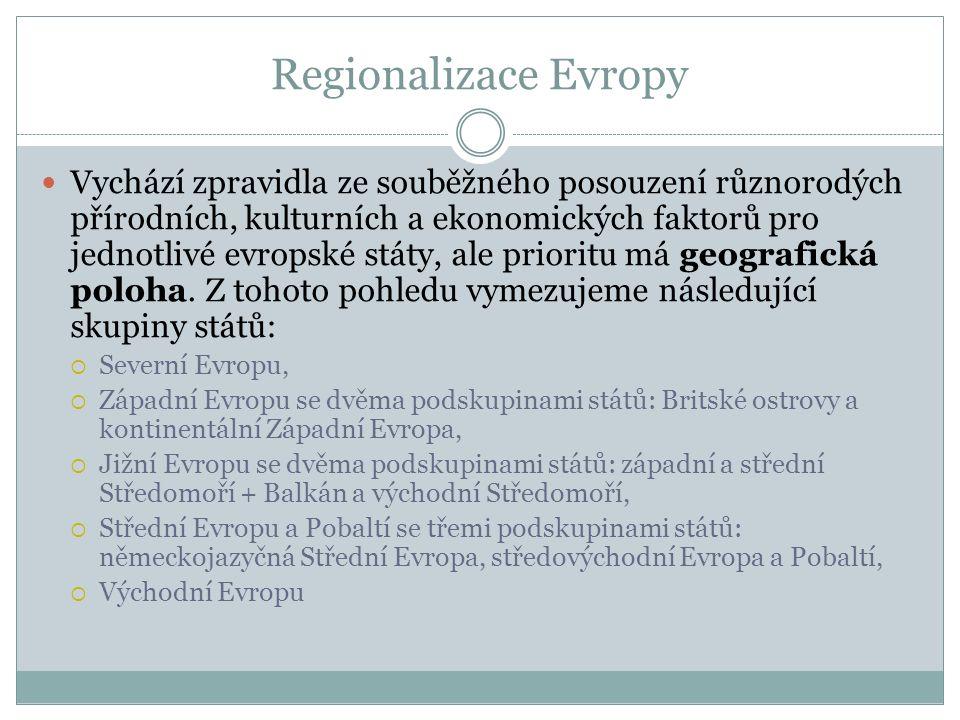 Regionalizace Evropy