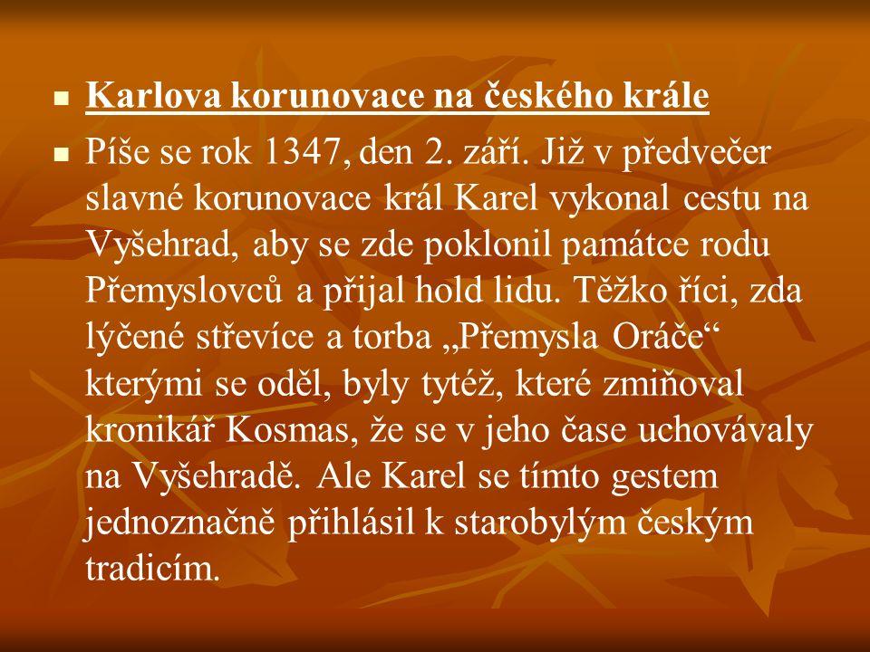 Karlova korunovace na českého krále