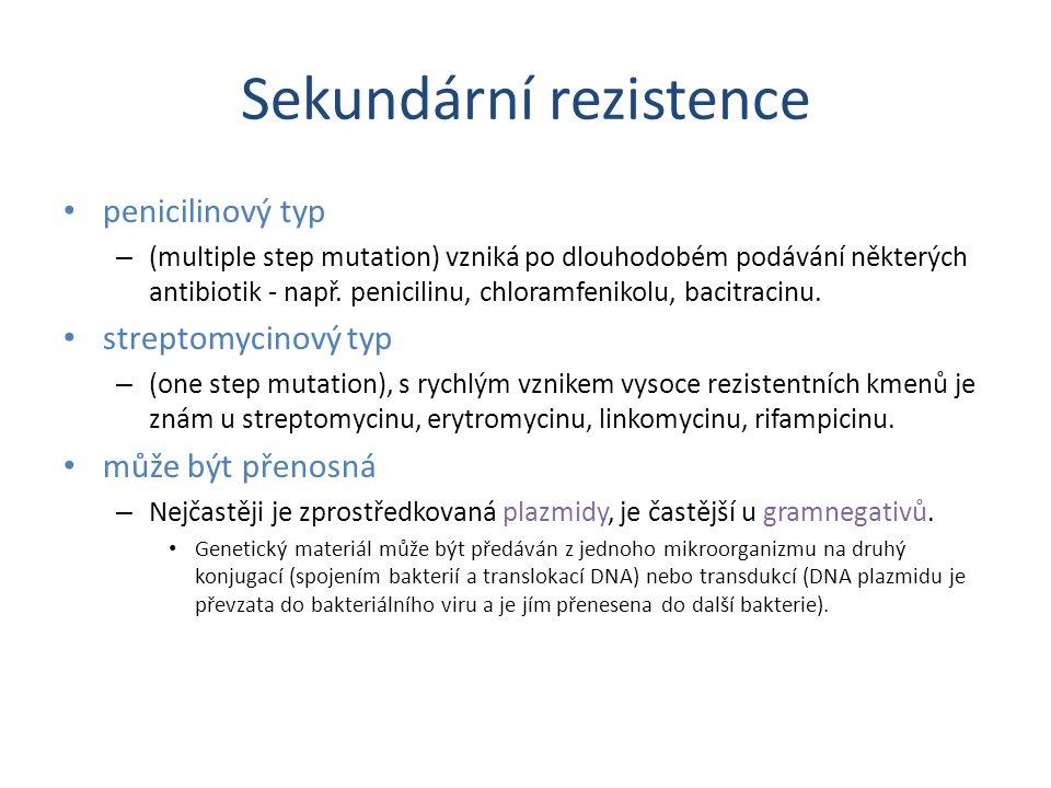 Sekundární rezistence