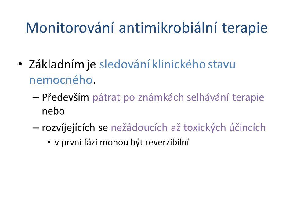Monitorování antimikrobiální terapie