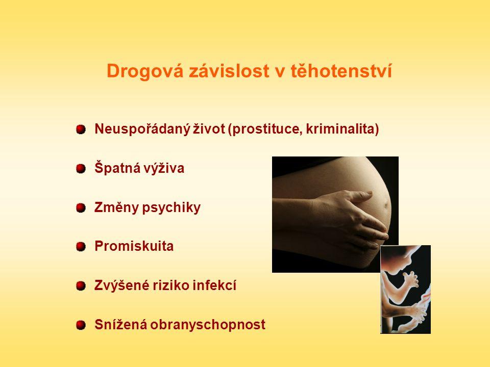 Drogová závislost v těhotenství