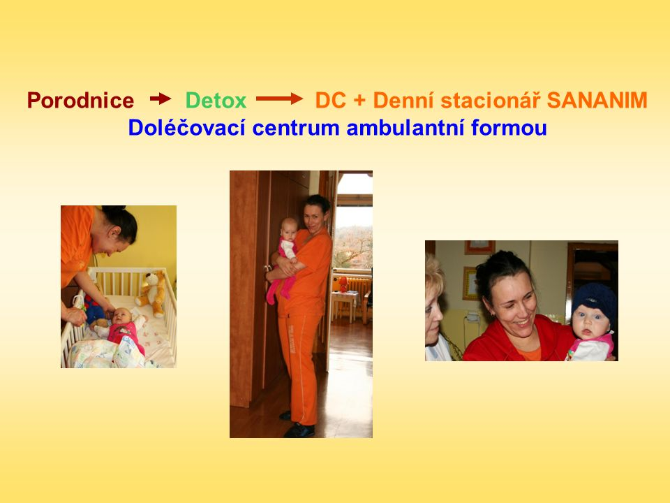 Porodnice Detox DC + Denní stacionář SANANIM Doléčovací centrum ambulantní formou