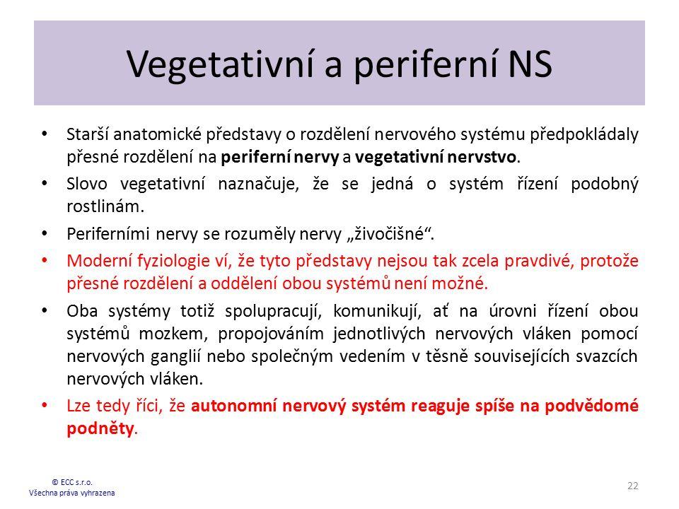 Vegetativní a periferní NS