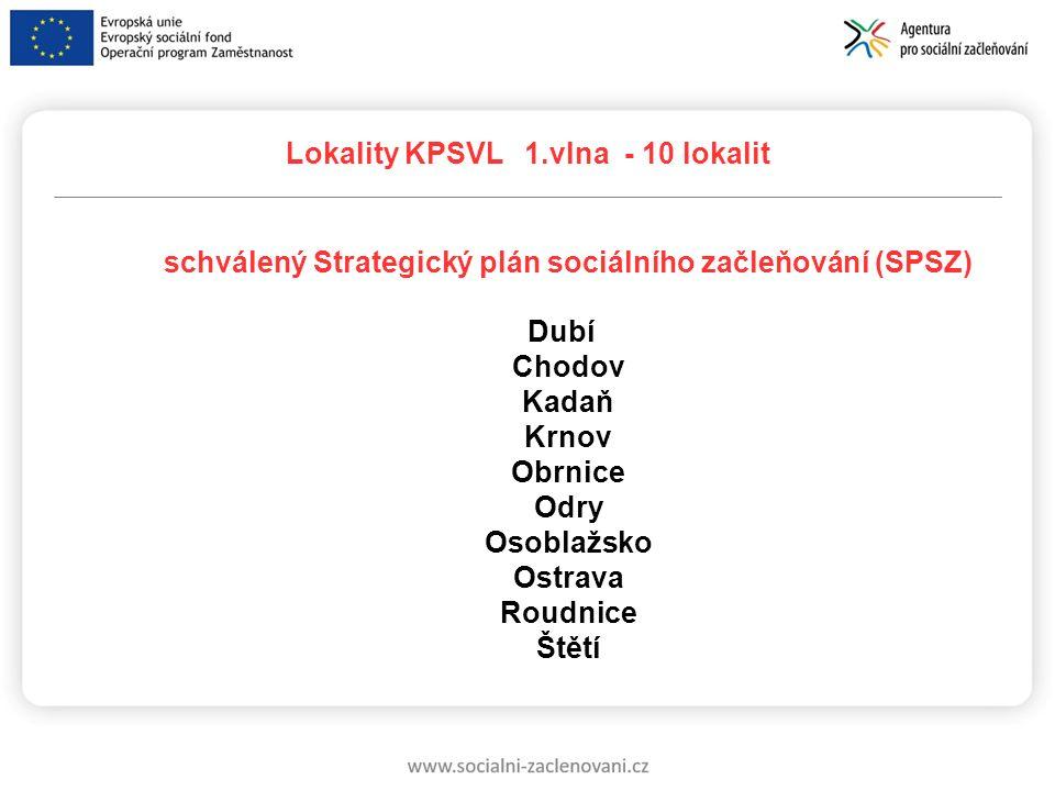 schválený Strategický plán sociálního začleňování (SPSZ)
