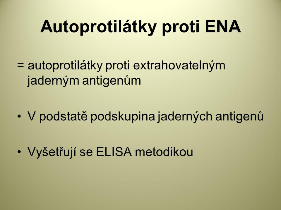 Autoprotilátky proti ENA