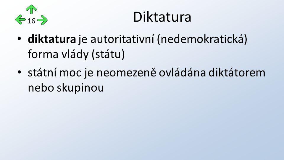 Diktatura 16.