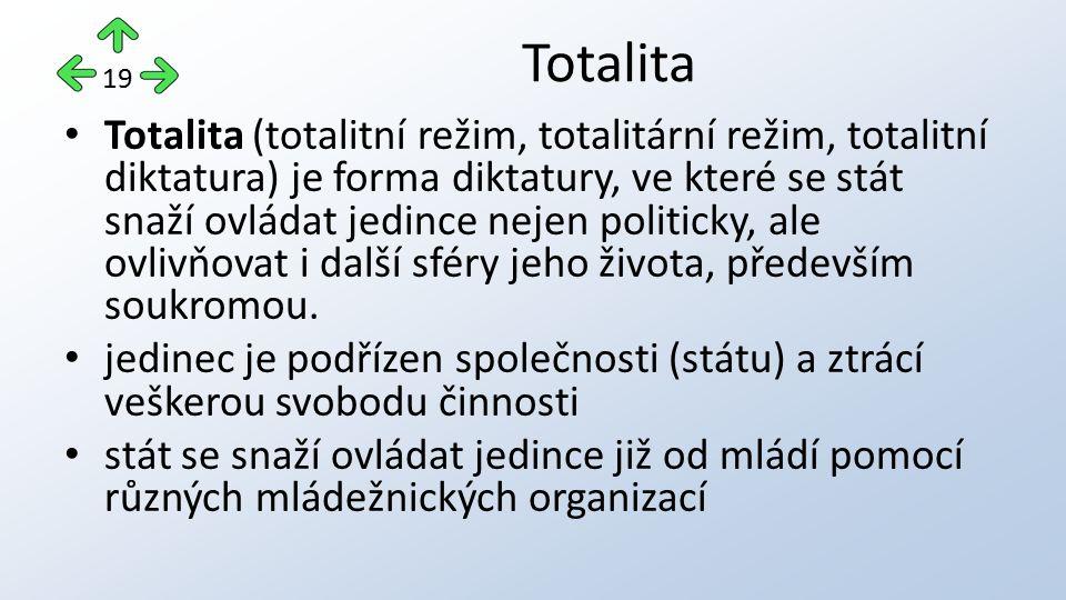 Totalita 19.