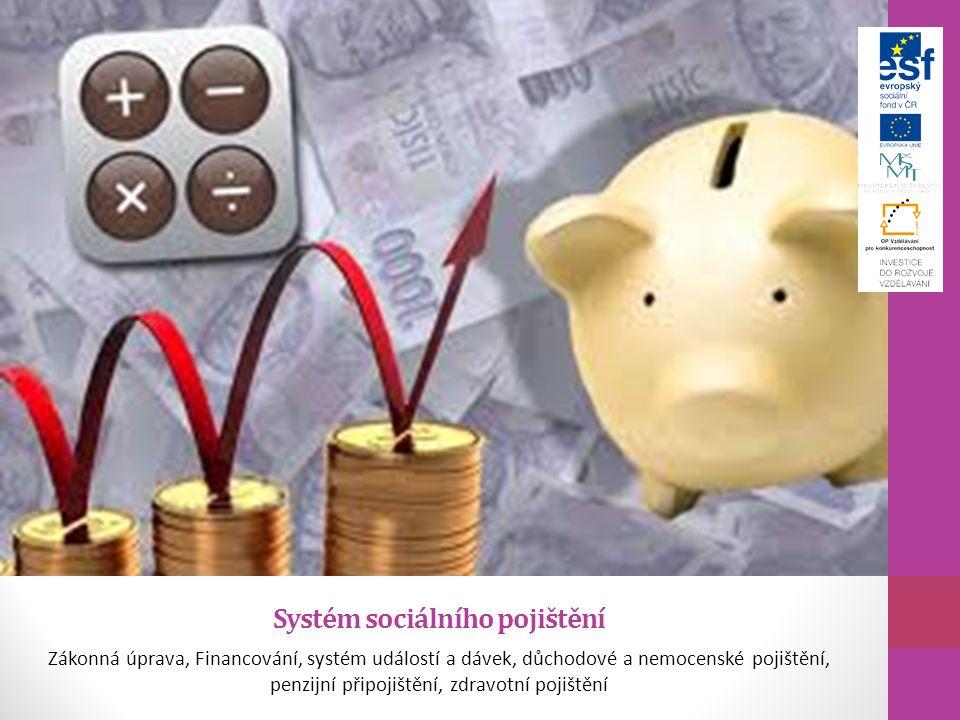 Systém sociálního pojištění