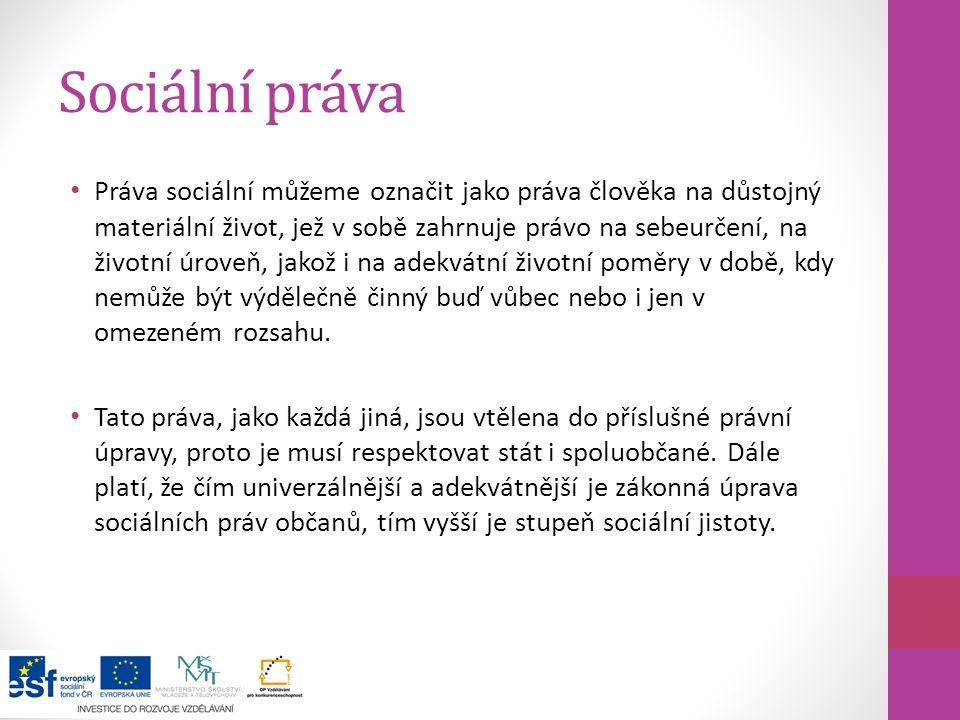 Sociální práva