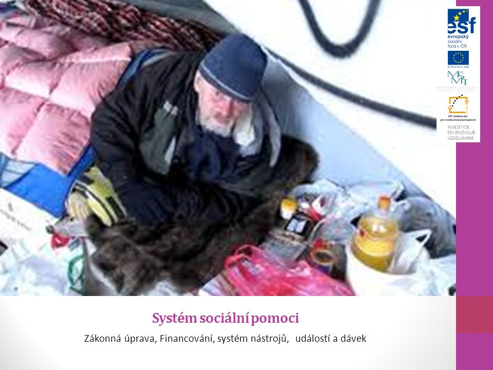 Systém sociální pomoci