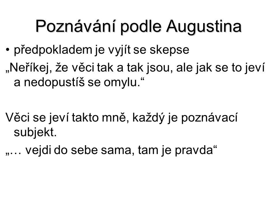 Poznávání podle Augustina