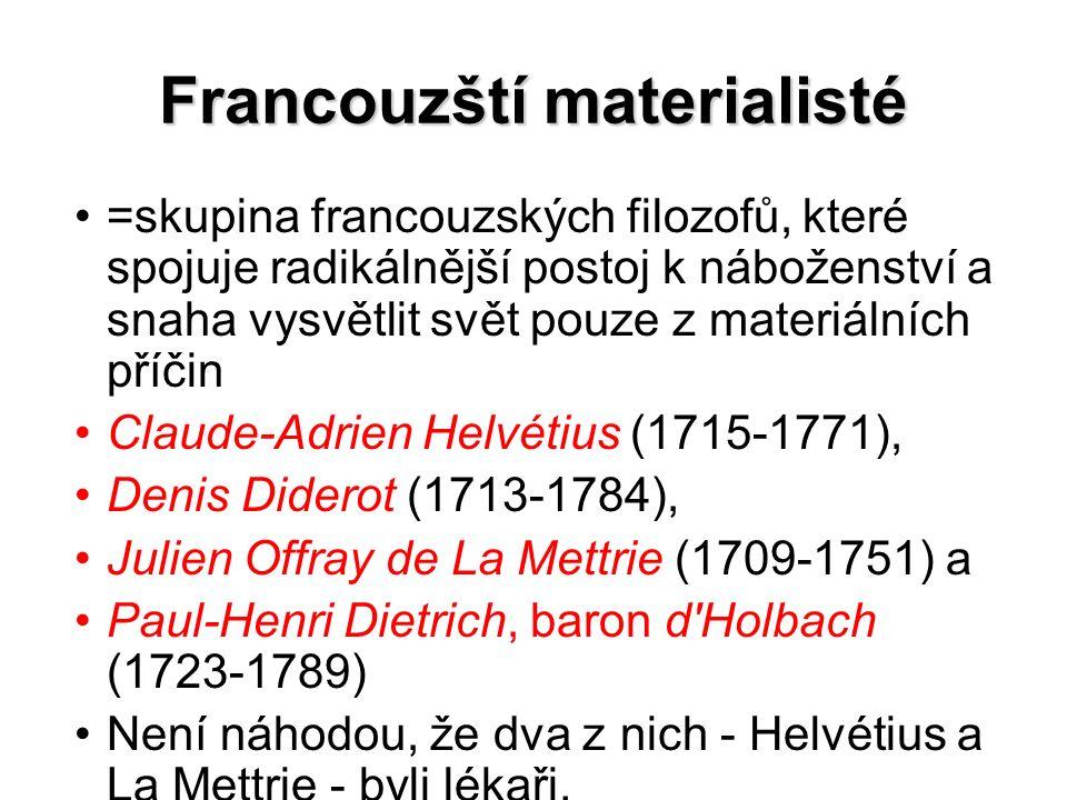 Francouzští materialisté