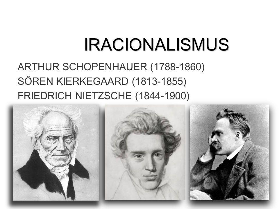 IRACIONALISMUS ARTHUR SCHOPENHAUER (1788-1860)