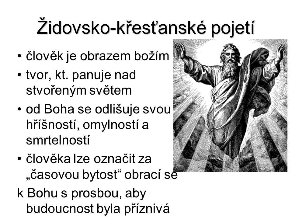Židovsko-křesťanské pojetí