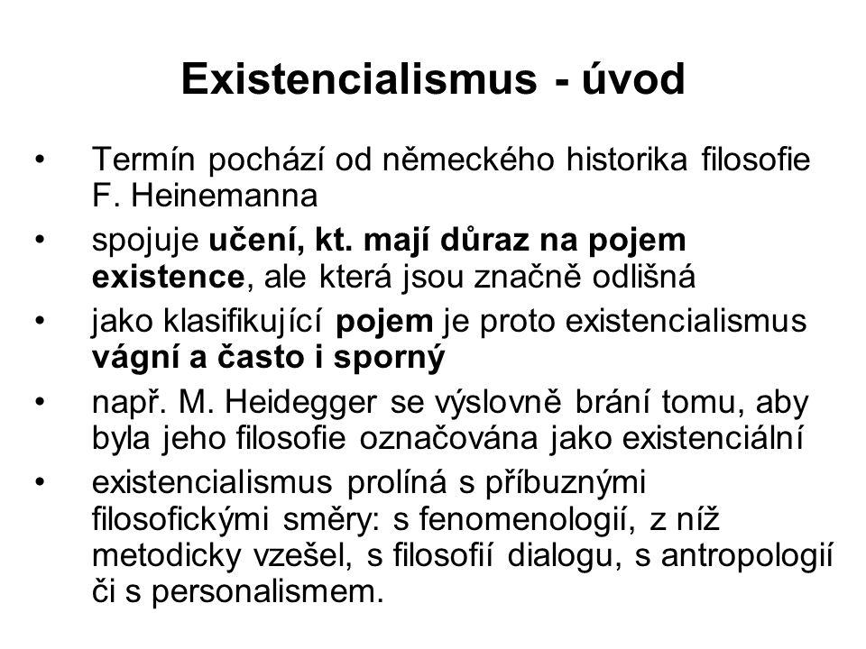 Existencialismus - úvod