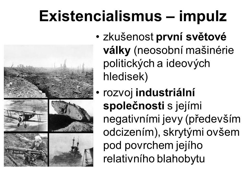 Existencialismus – impulz