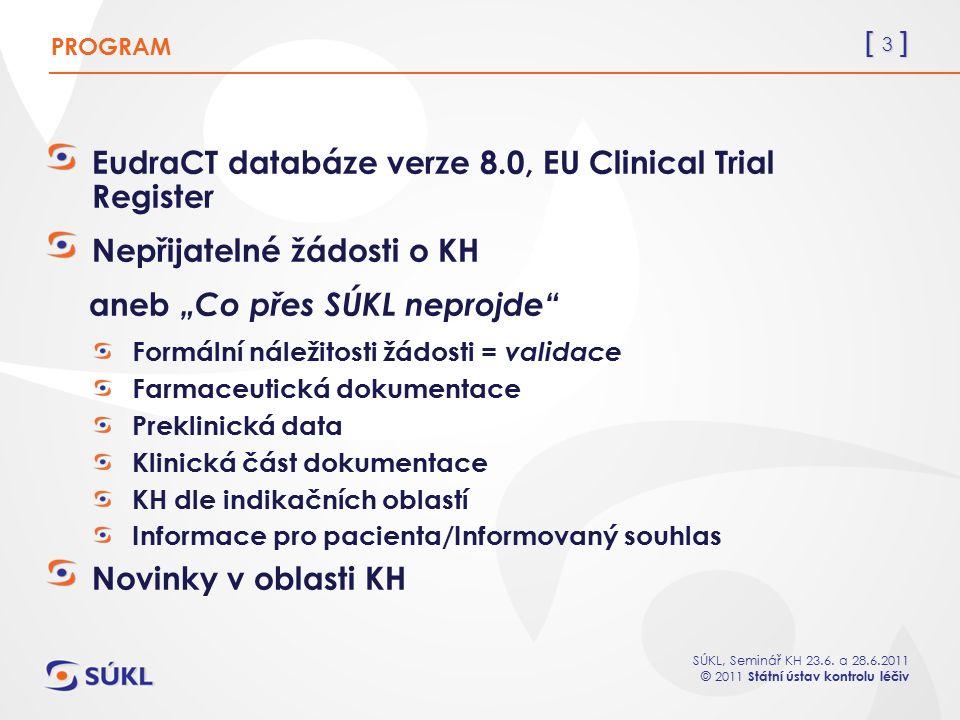 EudraCT databáze verze 8.0, EU Clinical Trial Register