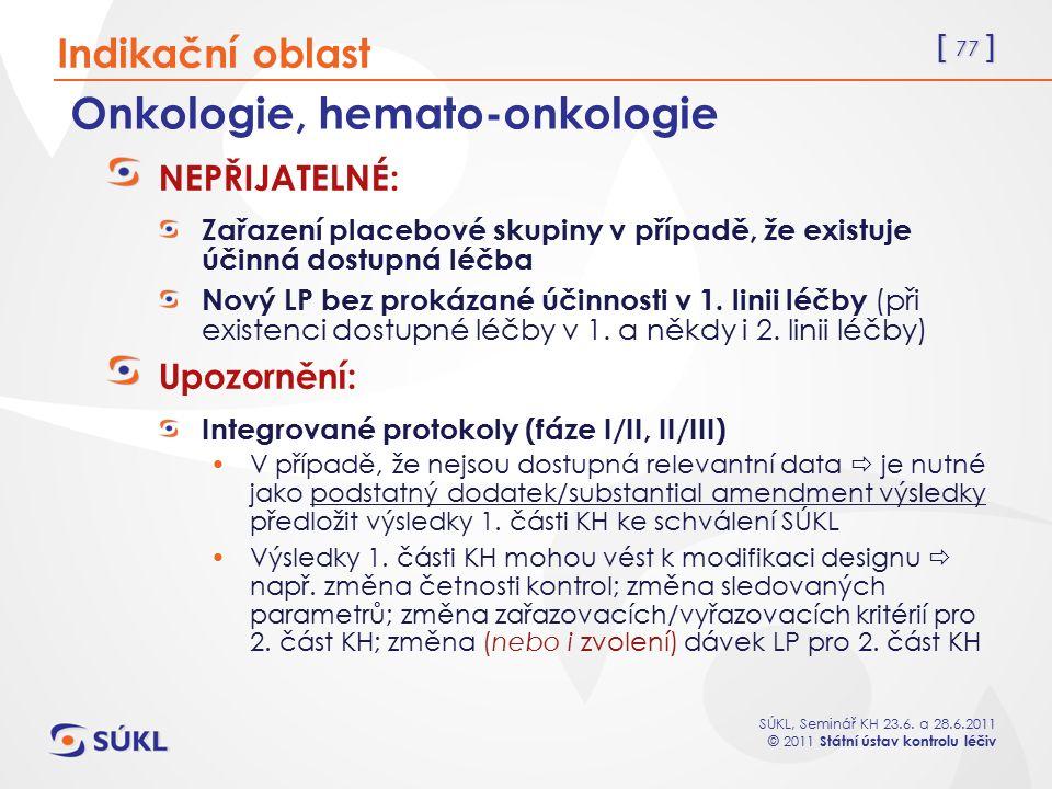 Onkologie, hemato-onkologie