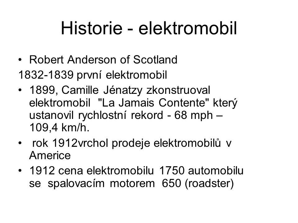Historie - elektromobil