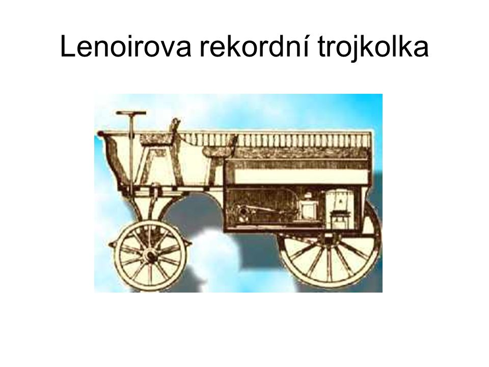 Lenoirova rekordní trojkolka