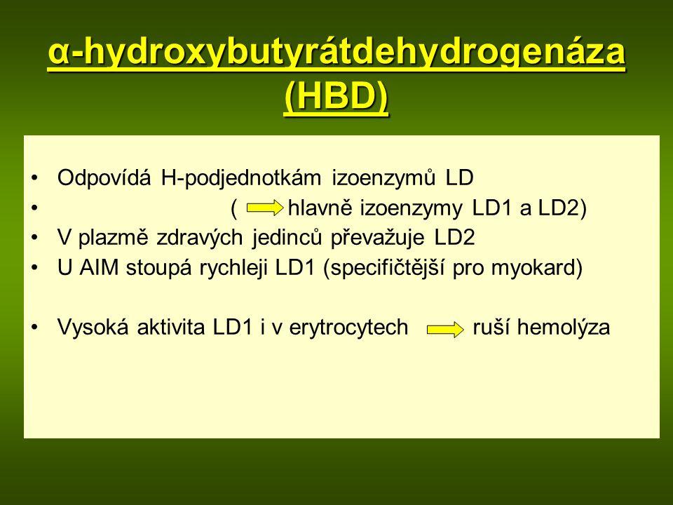 α-hydroxybutyrátdehydrogenáza (HBD)