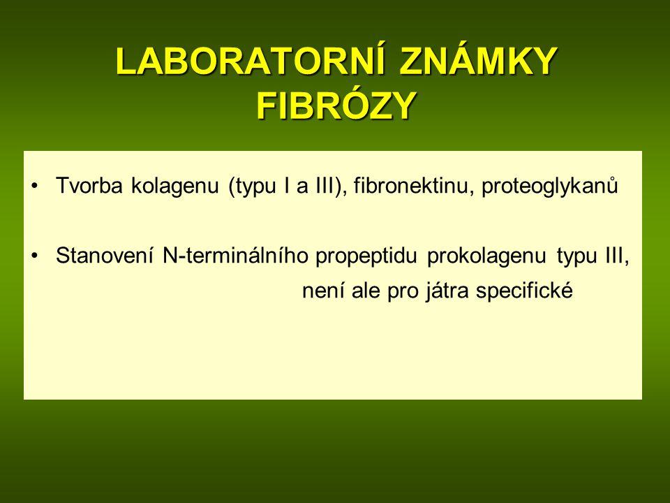 LABORATORNÍ ZNÁMKY FIBRÓZY